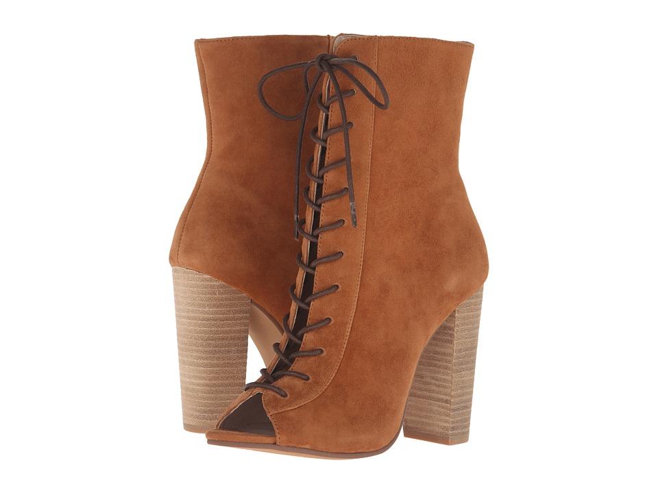 Kristin Cavallari Lawless (Caramel Kid Suede) High Heels