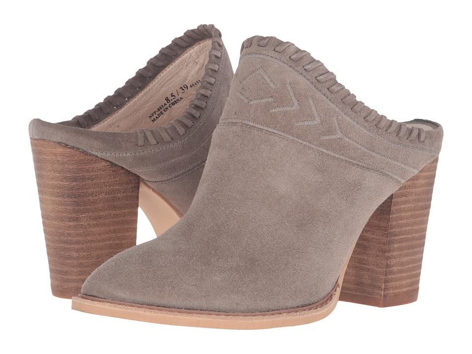 Kristin Cavallari Nikki Mule (Grey Suede) High Heels
