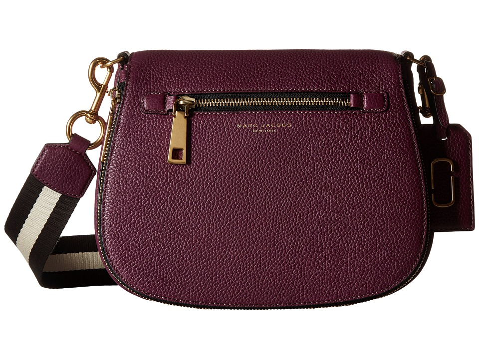 Marc Jacobs - Gotham Saddle Bag (Iris) Handbags