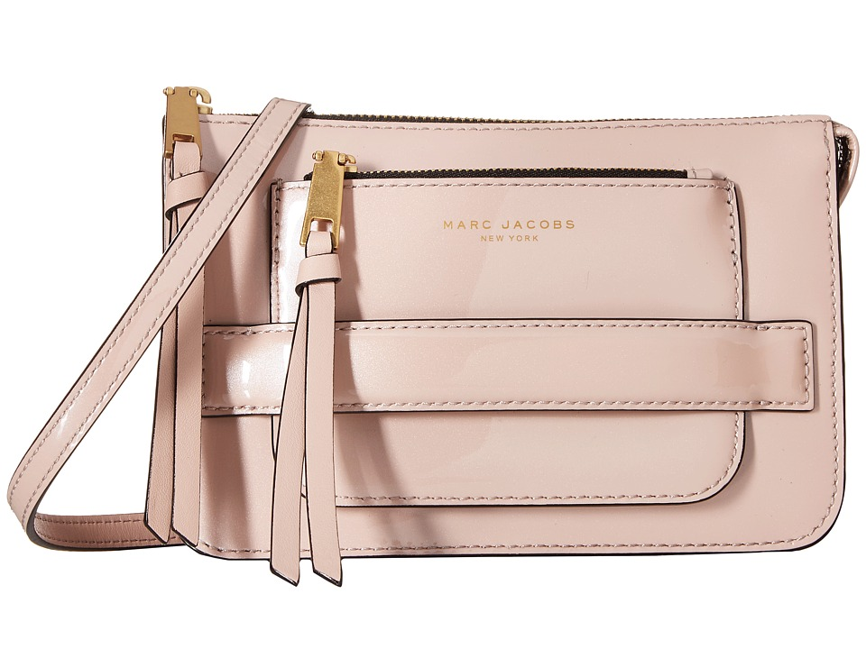 Marc Jacobs - Madison Patent Crossbody (Rose Smoke) Cross Body Handbags