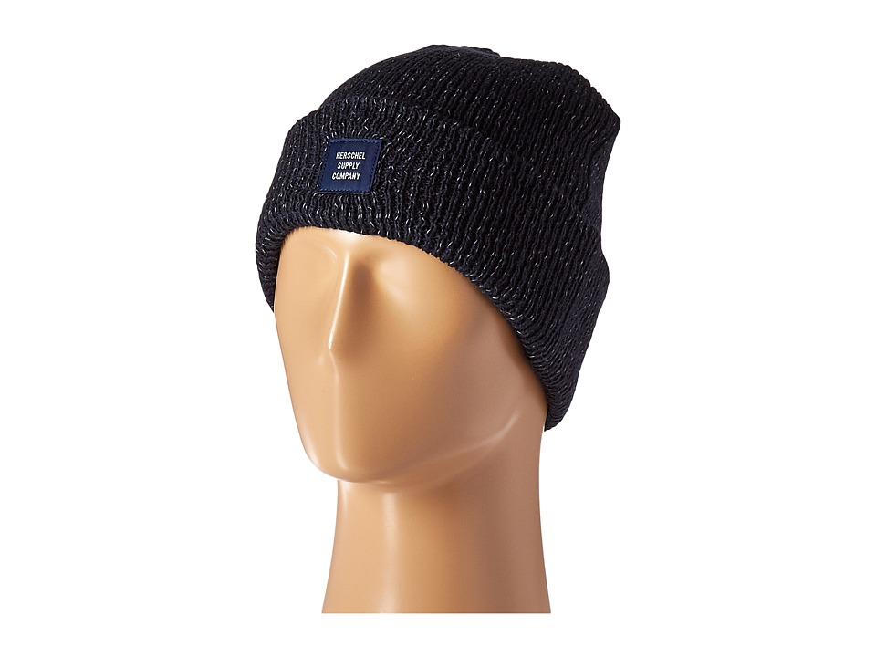 Herschel Supply Co. - Abbott (Navy/Reflective Speckle) Beanies