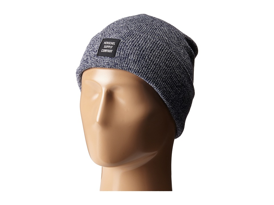 Herschel Supply Co. - Abbott (Heathered Navy) Beanies