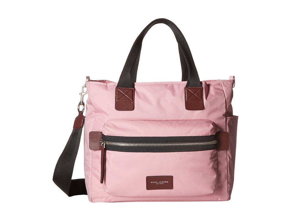 Marc Jacobs - Nylon Biker Babybag (Pink Fleur) Handbags
