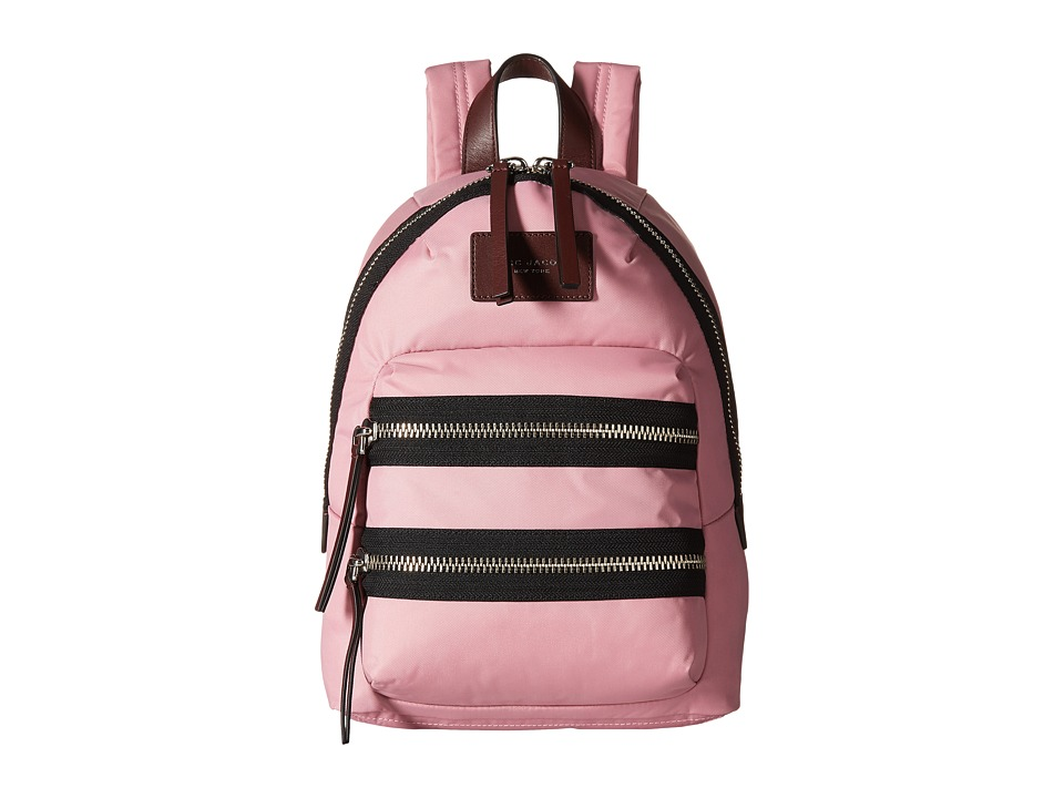 Marc Jacobs - Nylon Biker Mini Backpack (Pink Fleur) Backpack Bags
