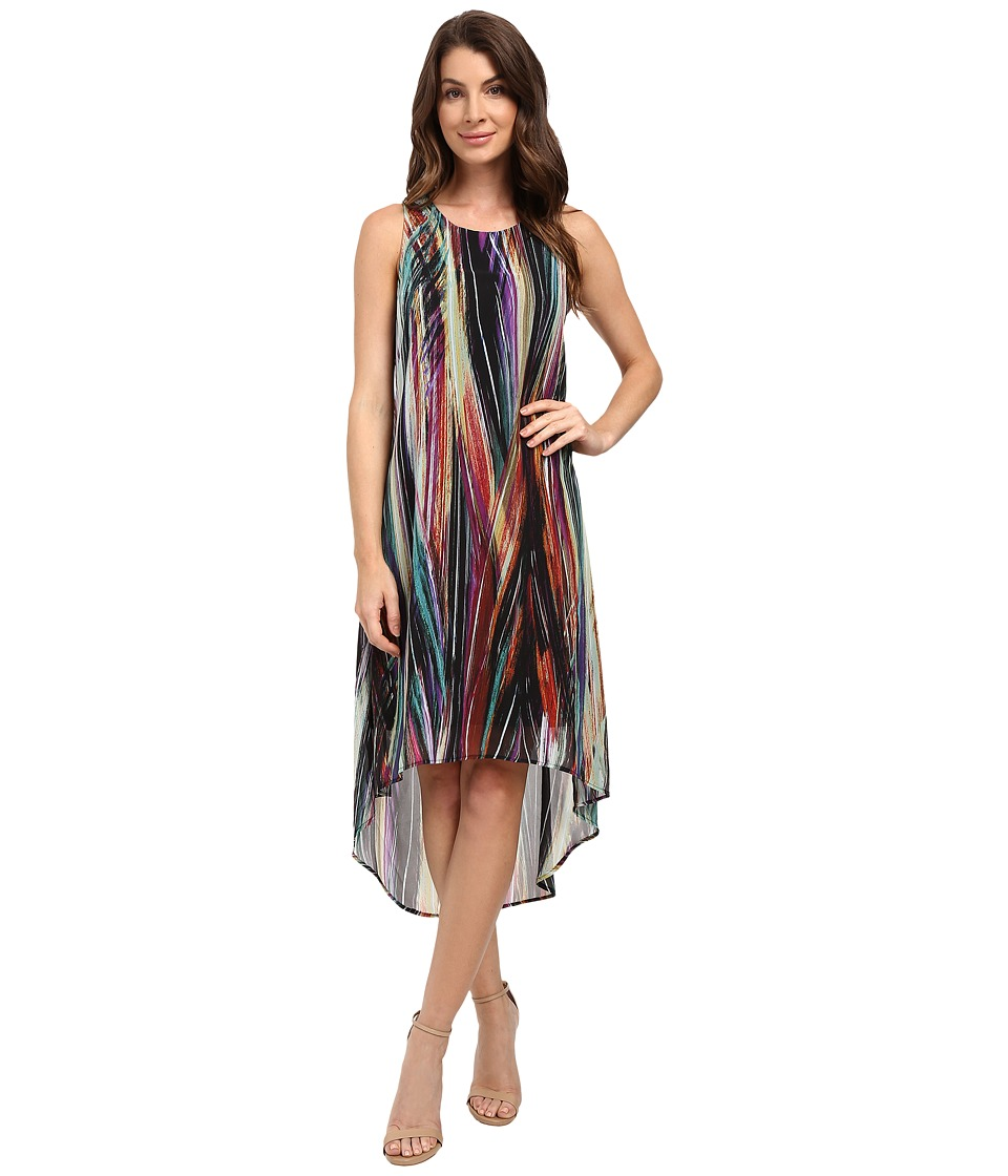 Karen Kane - Modern Art Hi-Lo Dress (Print) Women's Dress