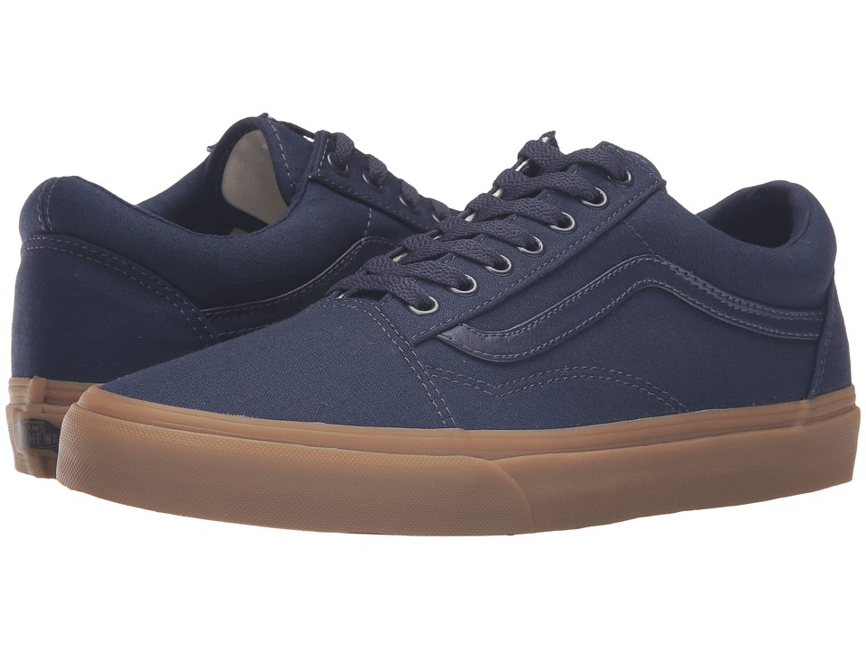 Vans - Old Skool X Gum Pack ((Canvas Gum) Eclipse/Light Gum) Skate Shoes