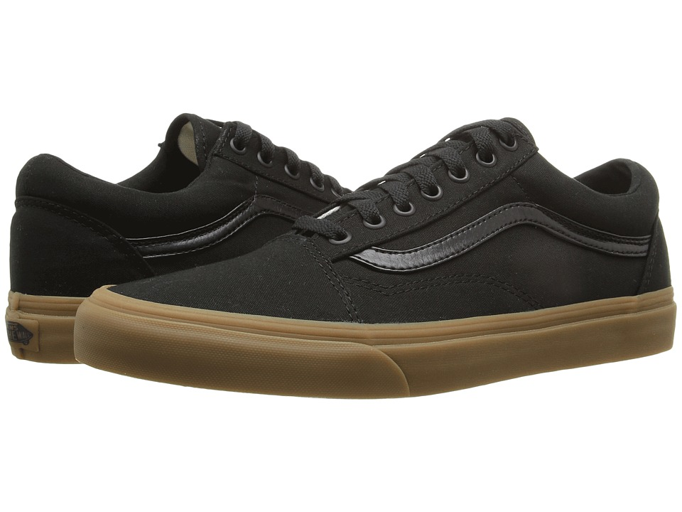Vans - Old Skool X Gum Pack ((Canvas Gum) Black/Light Gum) Skate Shoes