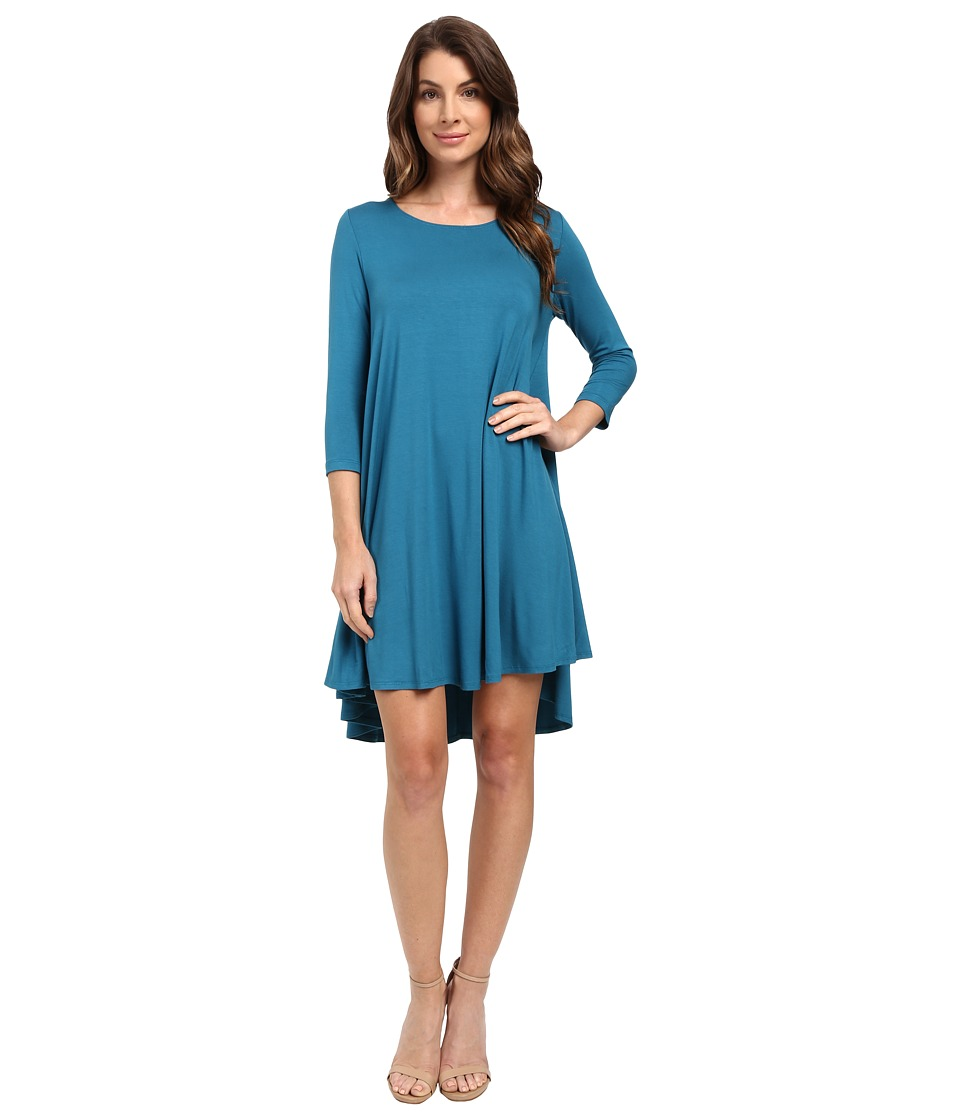 Karen Kane Maggie Trapeze Dress (Baltic Blue) Women