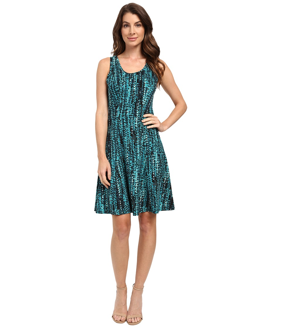 Karen Kane Abstract Dot Fit and Flare Dress (Print) Women