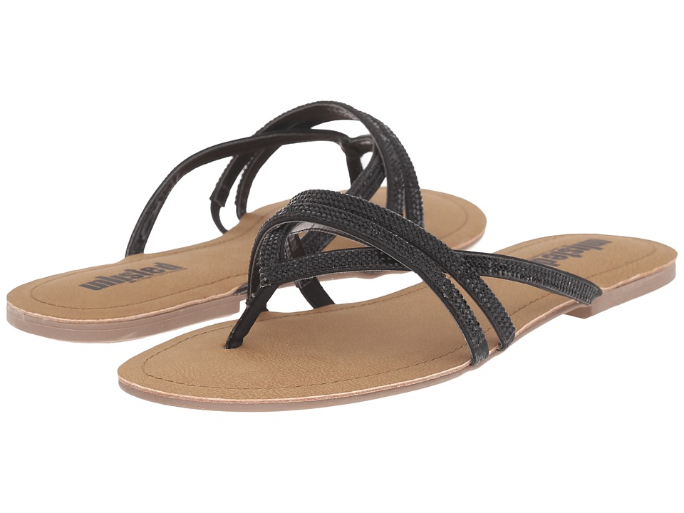 Kenneth Cole Unlisted - Favorite Coin MT (Black) Women's Sandals
