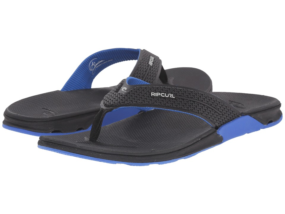 Rip Curl - The Game (Black/Blue) Men's Sandals