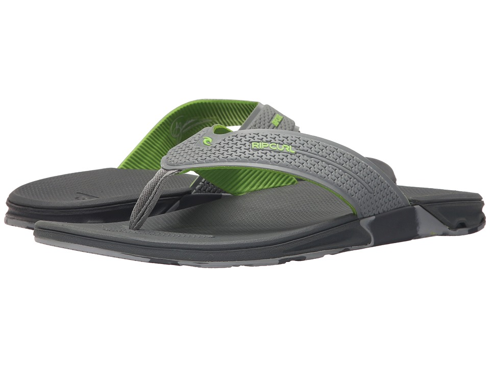 Rip Curl - The Game (Lime/Camo) Men's Sandals