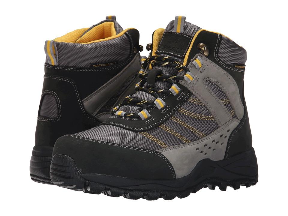 Drew Glacier Waterproof Boot (Black /Grey NuBuck/Yellow Trim) Women