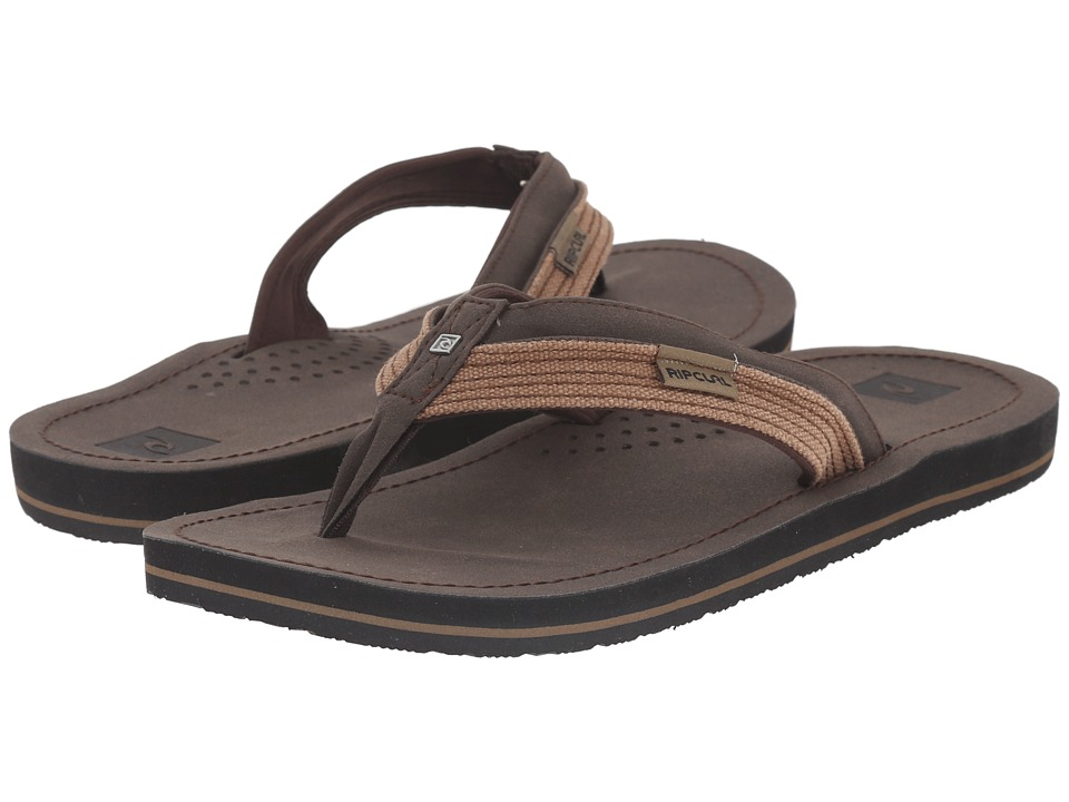 Rip Curl - Ox (Chocolate) Men's Sandals
