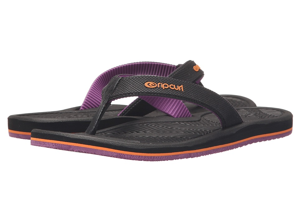 Rip Curl - Lotus (Black/Purple) Women's Sandals