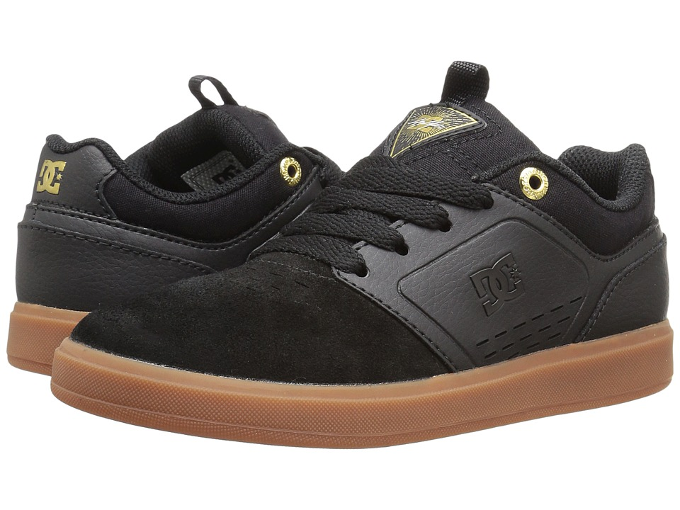 DC Kids - Cole Signature (Little Kid) (Black/Gum) Boys Shoes