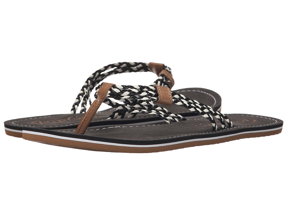 Rip Curl - Ivy (Black/Tan) Women's Sandals