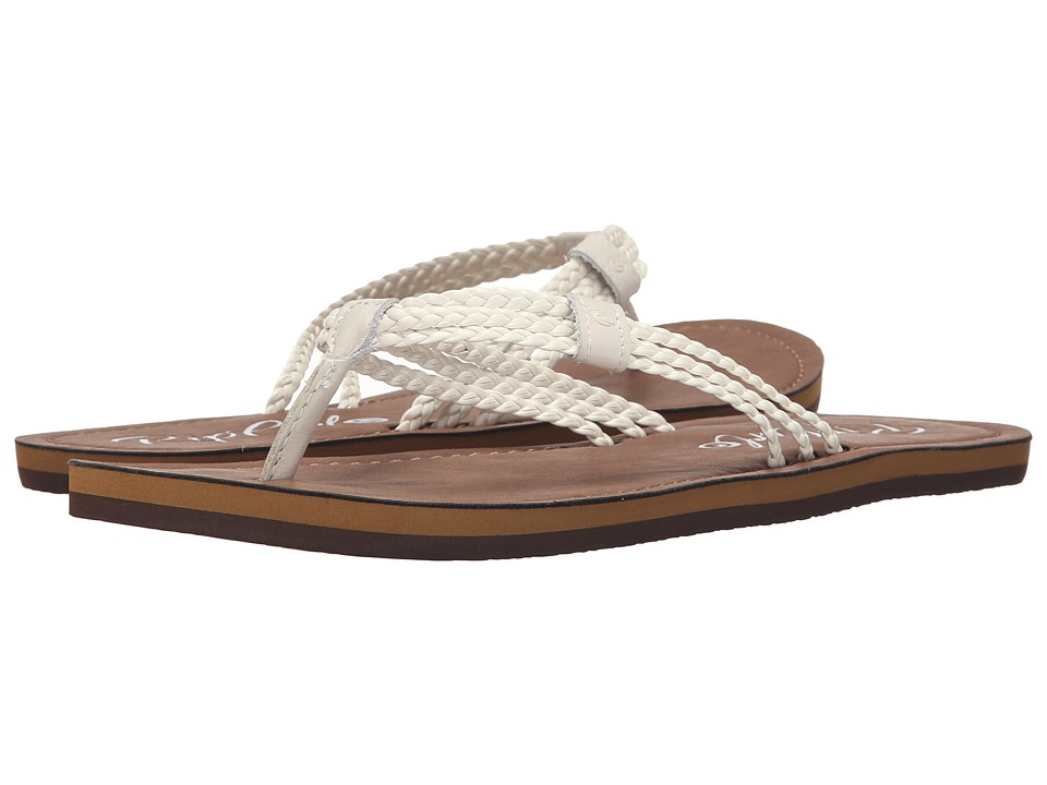 Rip Curl - Ivy (White/Brown) Women's Sandals