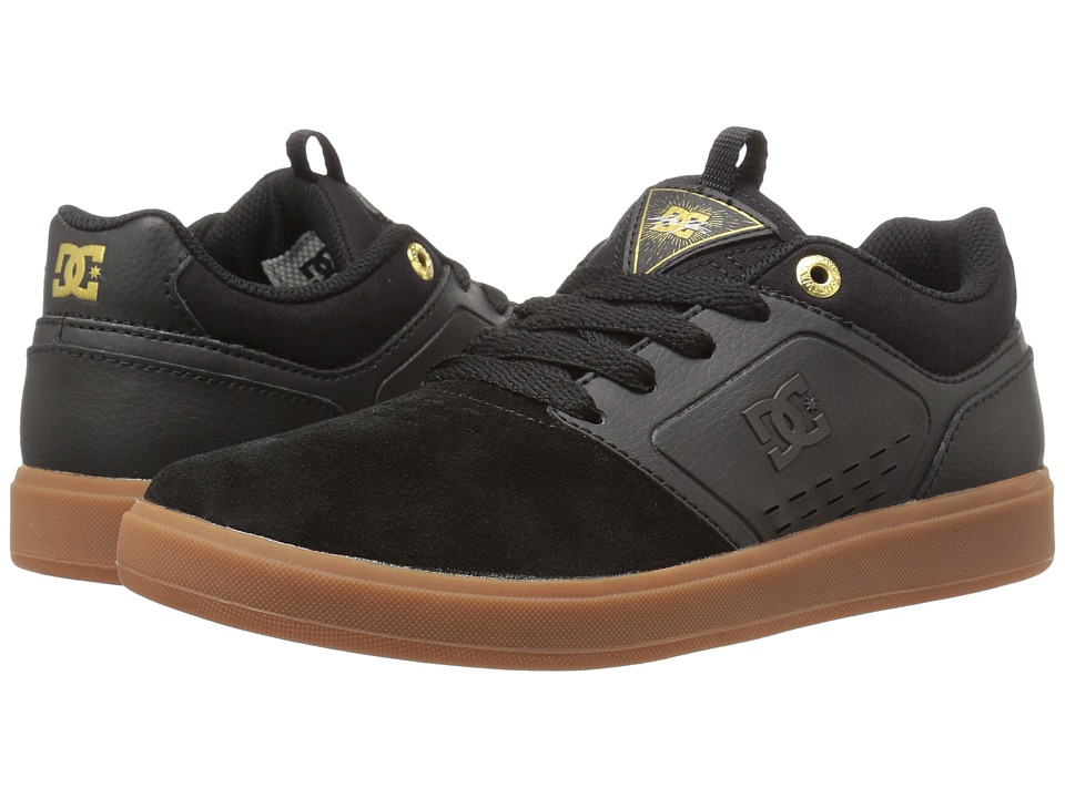 DC Kids - Cole Signature (Big Kid) (Black/Gum) Boys Shoes