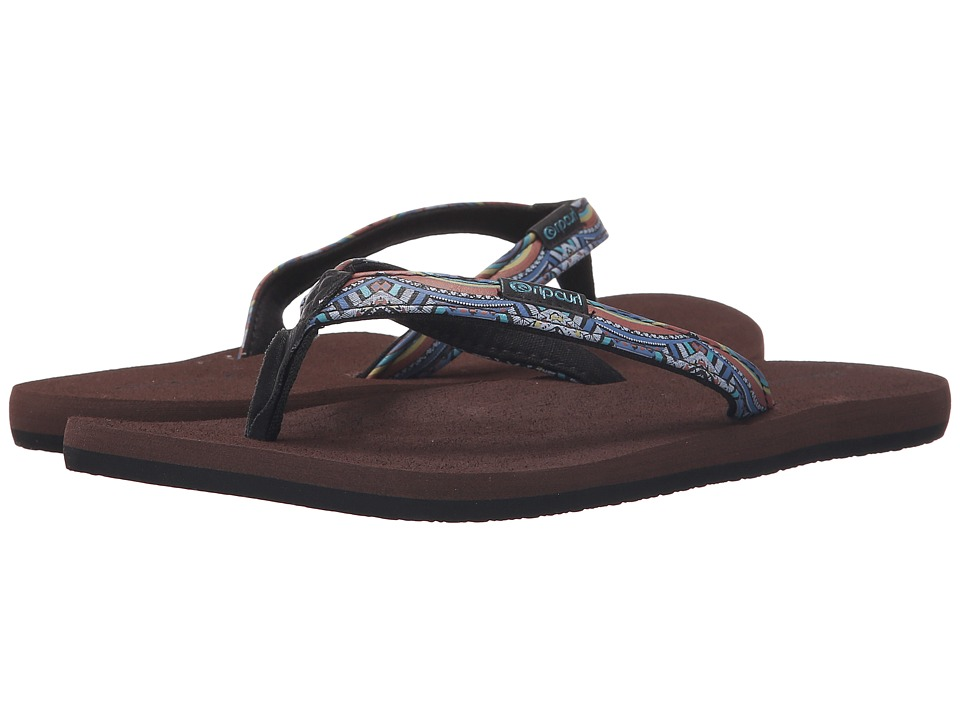 Rip Curl - Freedom (Black/Brown) Women's Sandals
