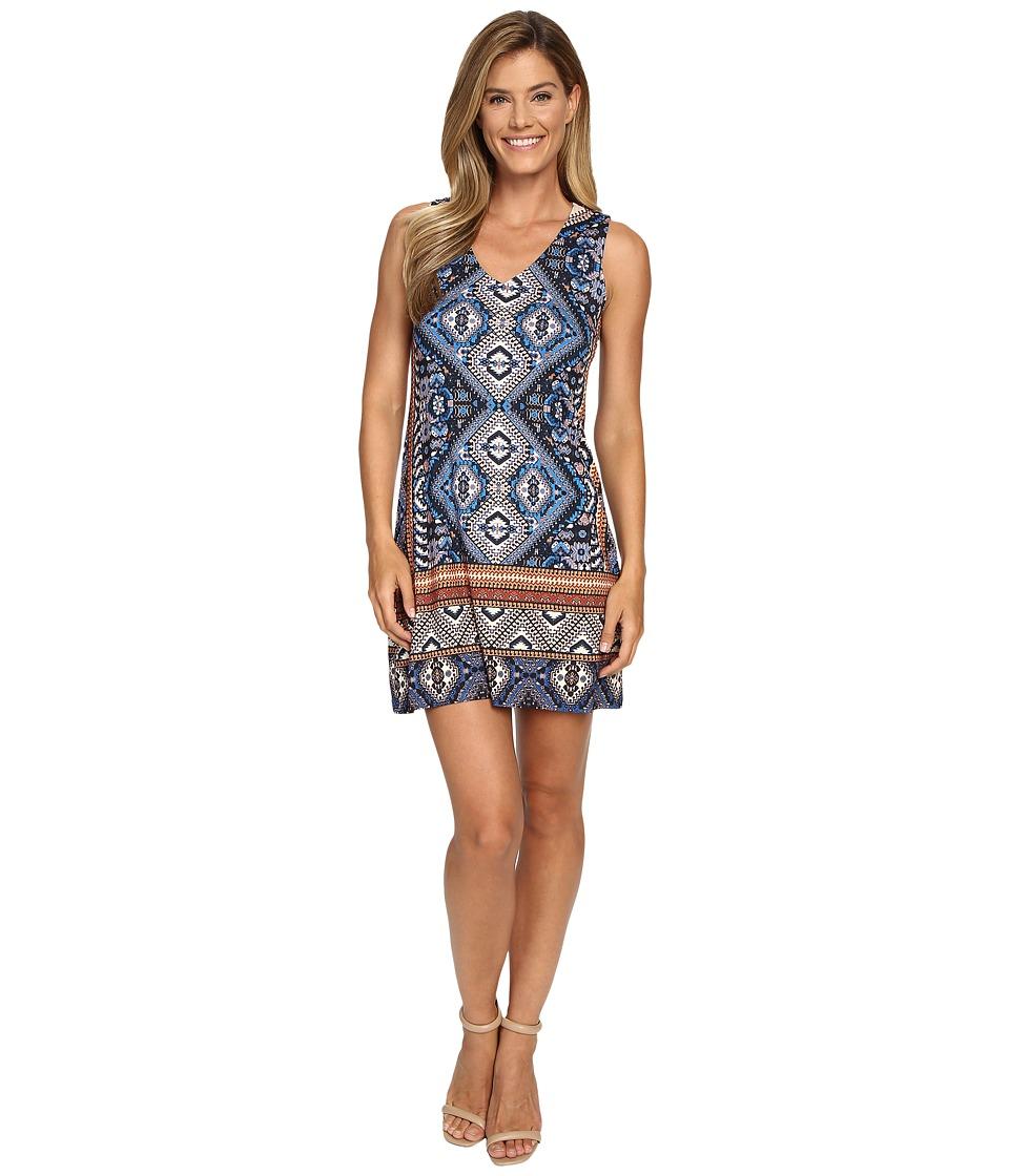 Karen Kane - Yucatan Tile Dress (Print) Women's Dress
