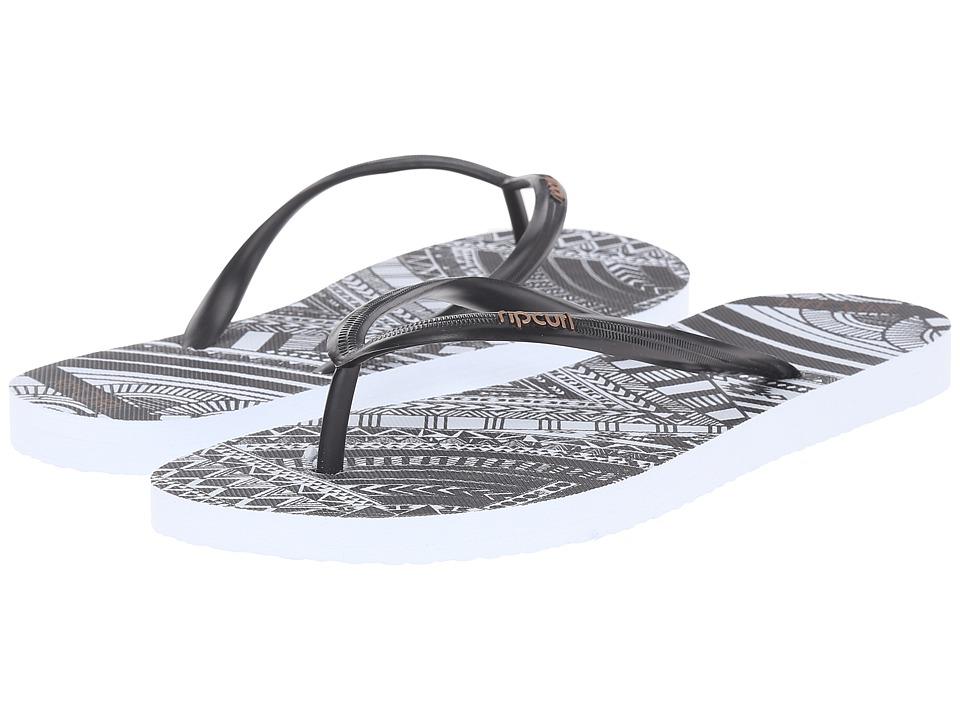 Rip Curl - Tribal Myth (Black/White) Women's Sandals