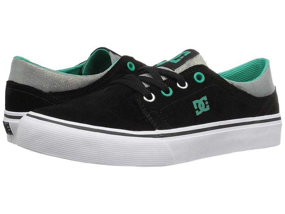 DC Kids - Trase SE (Big Kid) (Black/Turquoise/White) Girls Shoes