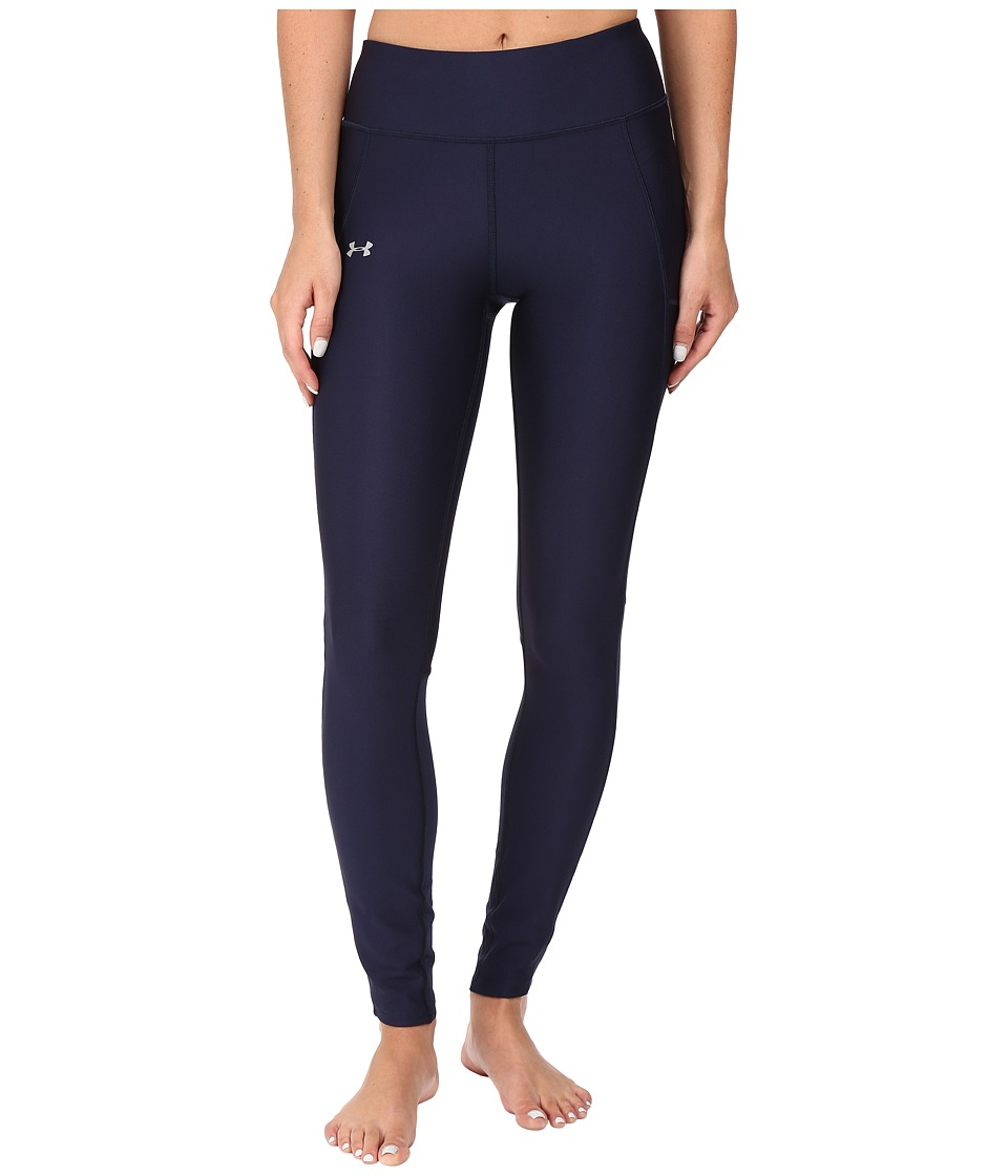 Under Armour - Fly By Run Leggings (Midnight Navy/Reflective) Women's Workout