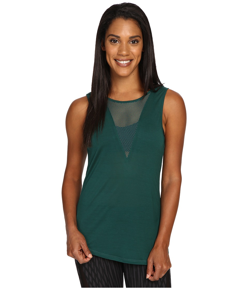 ALO - Warm-Up Tank Top (Evermint) Women's Sleeveless