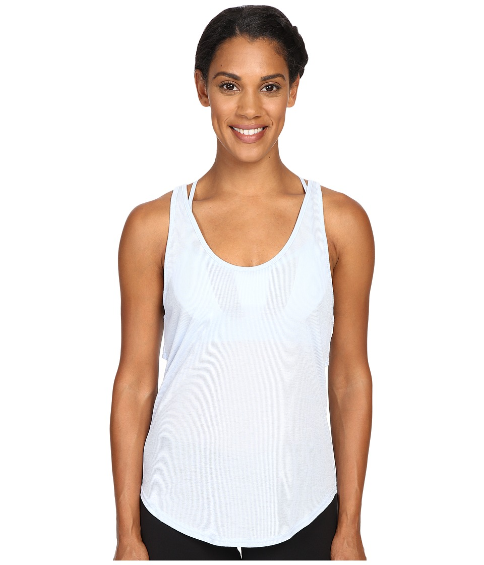 ALO - Sculpt Tank Top (Sky) Women's Sleeveless