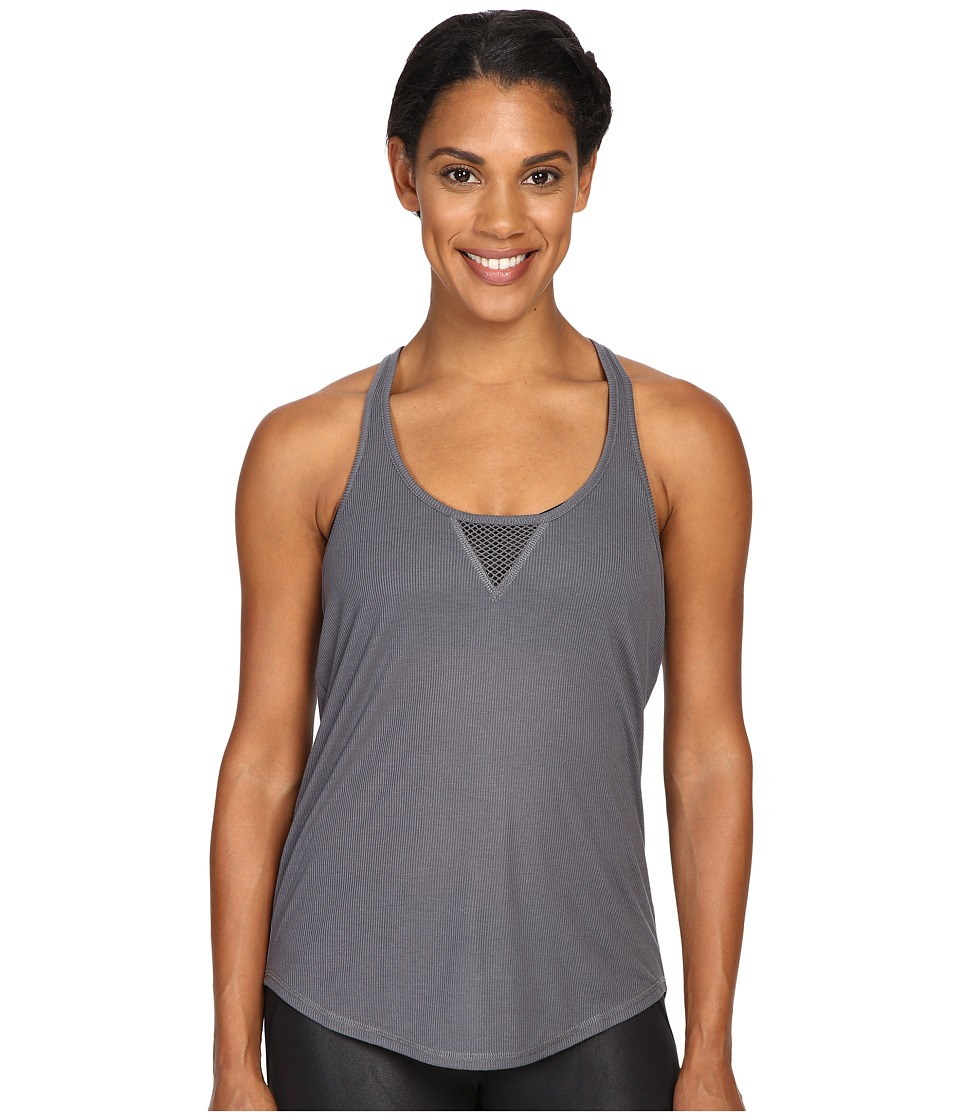 ALO - Layer Tank Top (Slate) Women's Sleeveless