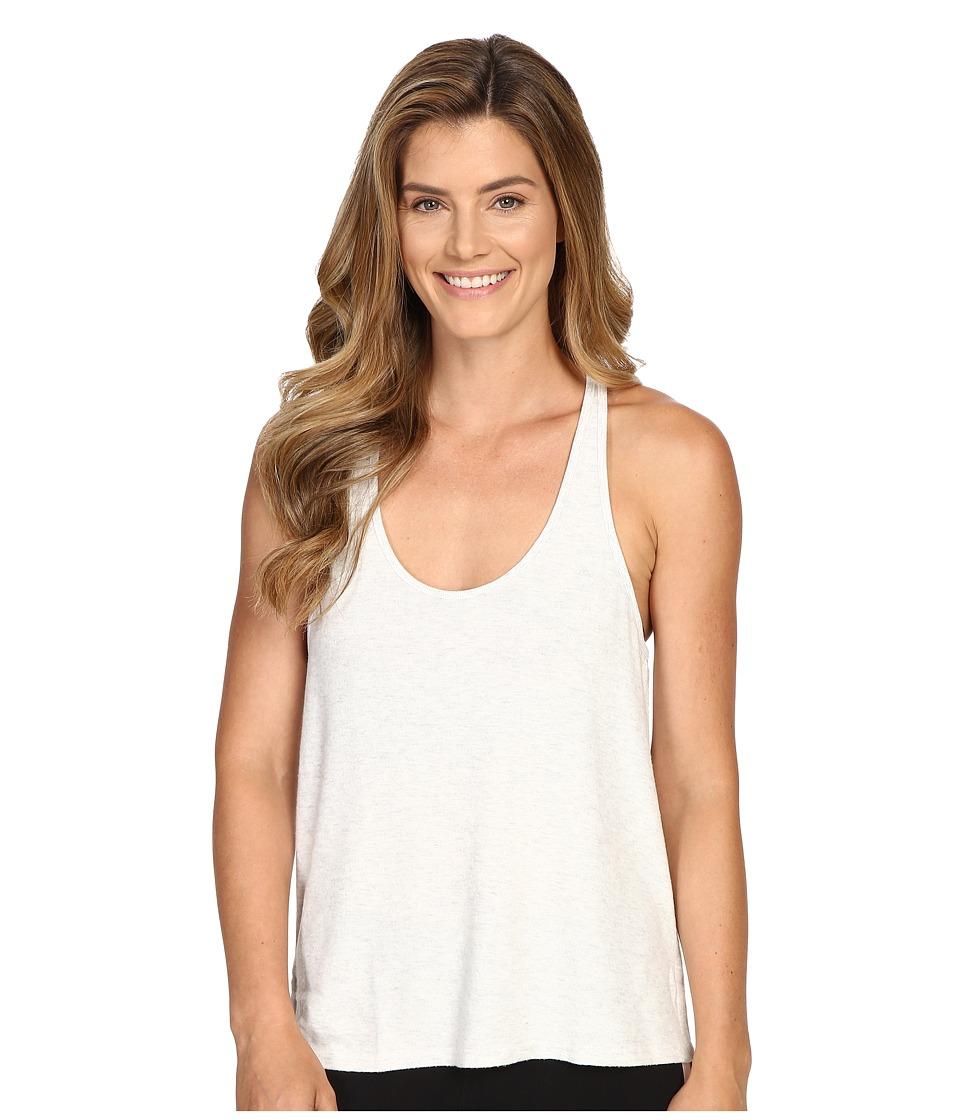 ALO - Cozy Tank Top (White Heather) Women's Sleeveless