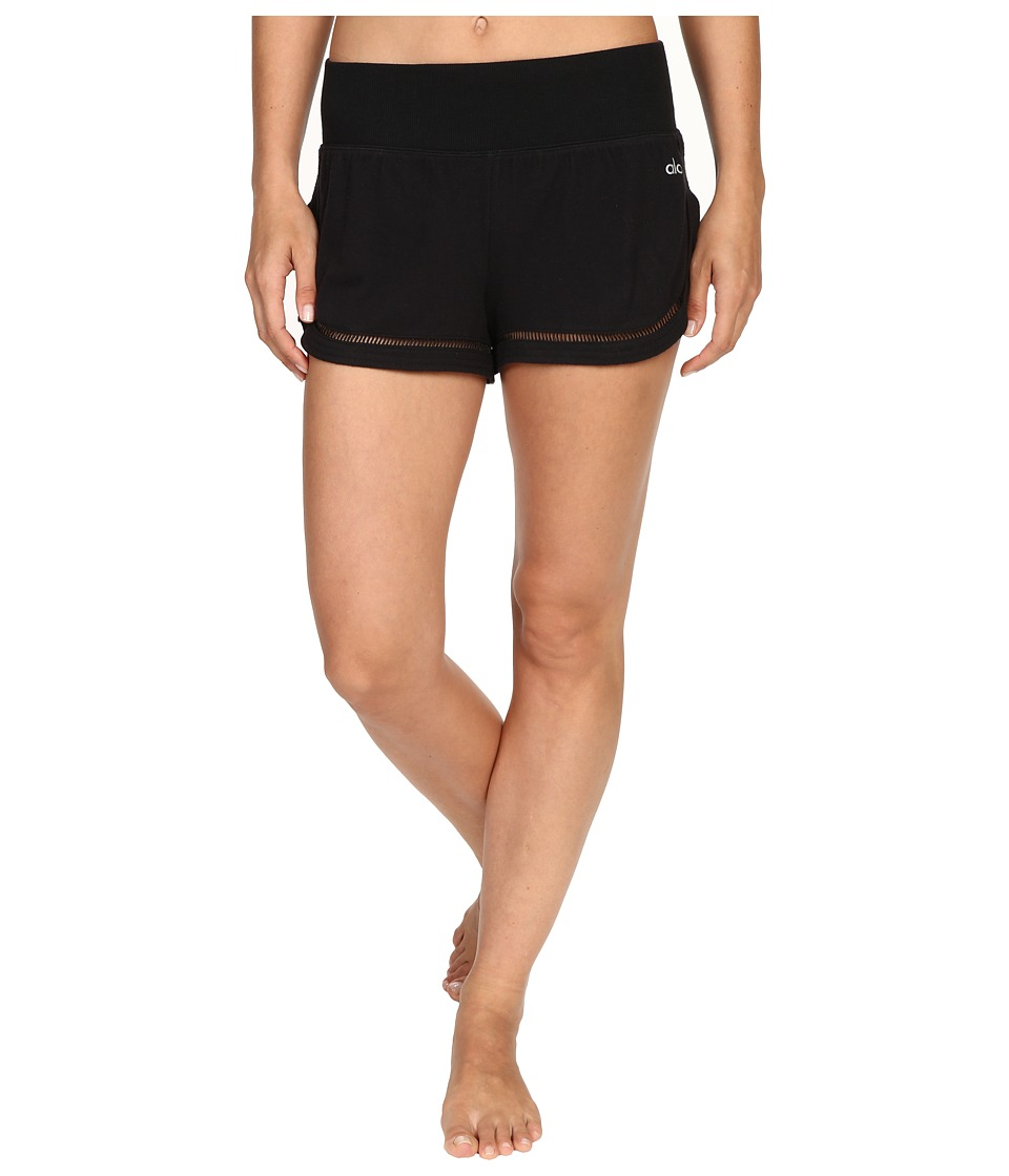 ALO - Allure Shorts (Black) Women's Shorts