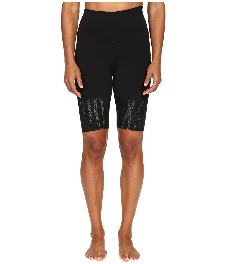 ALO - Mix-Up Shorts (Black) Women's Shorts