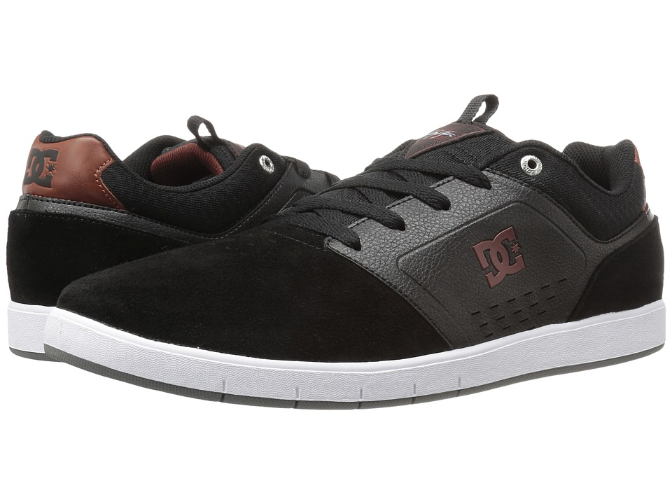 DC - Cole Signature (Black/Red/White) Men's Skate Shoes