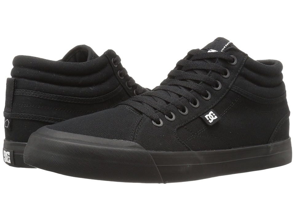 DC Evan Smith Hi (Black/Black/Gum) Men