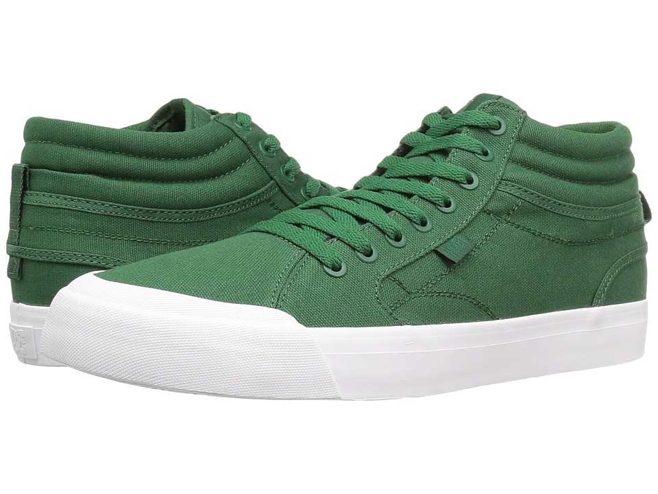 DC - Evan Smith Hi (Dark Green) Men's Skate Shoes