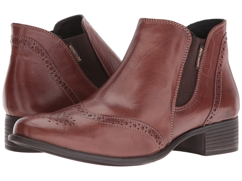 Mephisto - Eleonore (Hazelnut Texas) Women's Boots