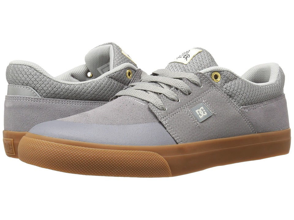 DC - Wes Kremer (Grey/Gum) Men's Lace up casual Shoes