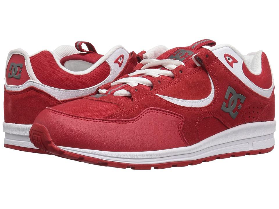 DC - Kalis Lite (Red/White) Men's Skate Shoes