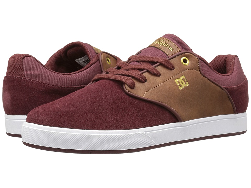 DC - Mikey Taylor (Burgundy) Men's Skate Shoes