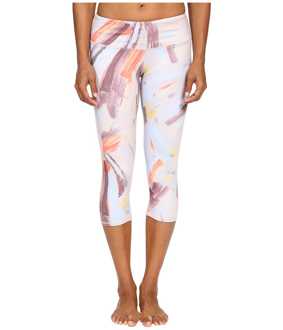 ALO - Airbrushed Capri (Modernist Multi) Women's Workout