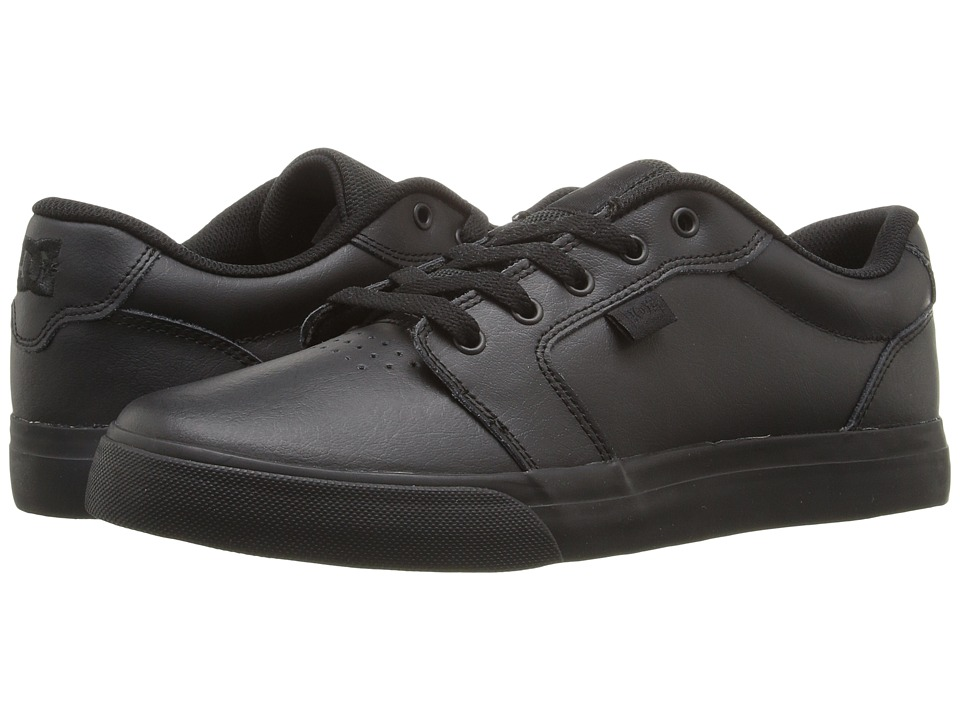 DC - Anvil SE (Black/Black/Black) Men's Skate Shoes