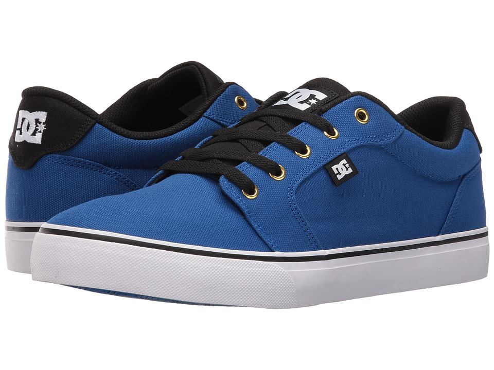DC - Anvil TX (Royal/Black) Men's Skate Shoes