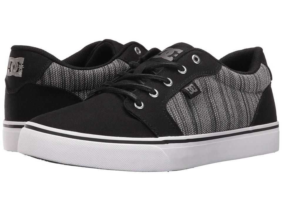 DC - Anvil TX SE (Grey) Men's Shoes