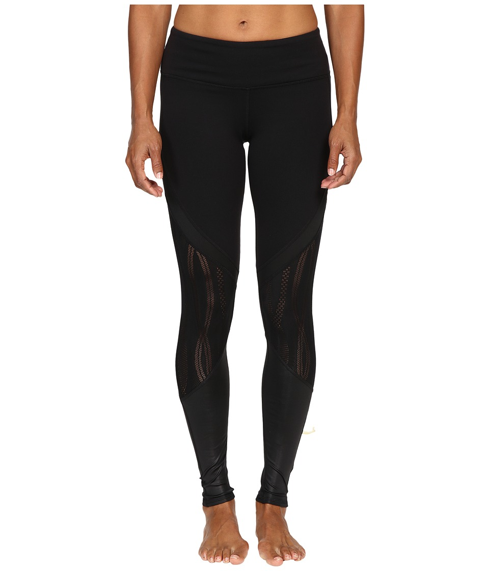 ALO - Vitality Leggings (Black/Black) Women's Workout