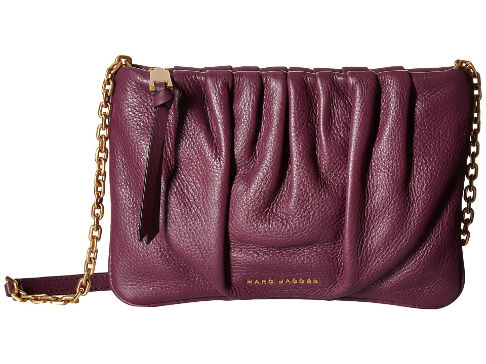 Marc Jacobs - Gathered Pouch with Chain (Iris) Handbags