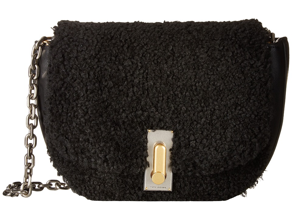 Marc Jacobs - West End Shearling The Jane (Black) Shoulder Handbags