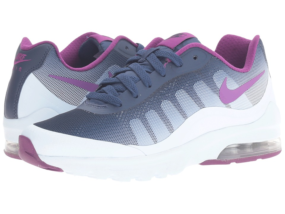 Nike - Air Max Invigor Print (Blue Tint/Bright Grape/Midnight Navy) Women's Classic Shoes