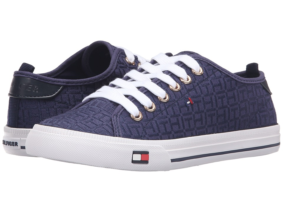 Tommy Hilfiger - Lorelai 2 (Blue) Women's Lace up casual Shoes